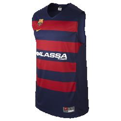 Мужское баскетбольное джерси FC Barcelona ReplicaМужское баскетбольное джерси FC Barcelona Replica из влагоотводящей ткани с сетчатой вставкой на спине обеспечивает комфорт на площадке и на трибунах.<br>
