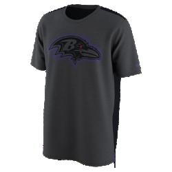 Мужская футболка Nike Dry Travel (NFL Ravens)Мужская футболка Nike Dry Travel (NFL Ravens) из мягкой влагоотводящей ткани украшена клубным логотипом.<br>