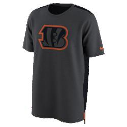 Мужская футболка Nike Dry Travel (NFL Bengals)Мужская футболка Nike Dry Travel (NFL Bengals) из мягкой влагоотводящей ткани украшена клубным логотипом.<br>