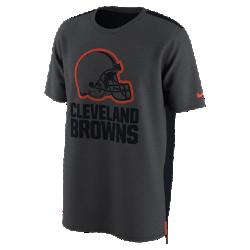 Мужская футболка Nike Dry Travel (NFL Browns)Мужская футболка Nike Dry Travel (NFL Browns) из мягкой влагоотводящей ткани украшена клубным логотипом.<br>