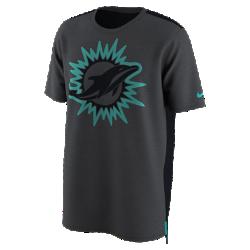 Мужская футболка Nike Dry Travel (NFL Dolphins)Мужская футболка Nike Dry Travel (NFL Dolphins) из мягкой влагоотводящей ткани украшена клубным логотипом.<br>