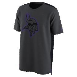 Мужская футболка Nike Dry Travel (NFL Vikings)Мужская футболка Nike Dry Travel (NFL Vikings) из мягкой влагоотводящей ткани украшена клубным логотипом.<br>