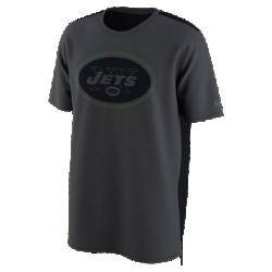 Мужская футболка Nike Dry Travel (NFL Jets)Мужская футболка Nike Dry Travel (NFL Jets) из мягкой влагоотводящей ткани украшена клубным логотипом.<br>