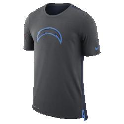 Мужская футболка Nike Dry Travel (NFL Chargers)Мужская футболка Nike Dry Travel (NFL Chargers) из мягкой влагоотводящей ткани украшена клубным логотипом.<br>