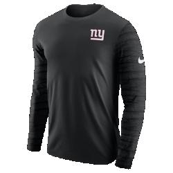 Мужская футболка с длинным рукавом Nike Enzyme Pattern (NFL Giants)Мужская футболка с длинным рукавом Nike Enzyme Pattern (NFL Giants) из ультрамягкого хлопка дополнена клубными деталями.<br>
