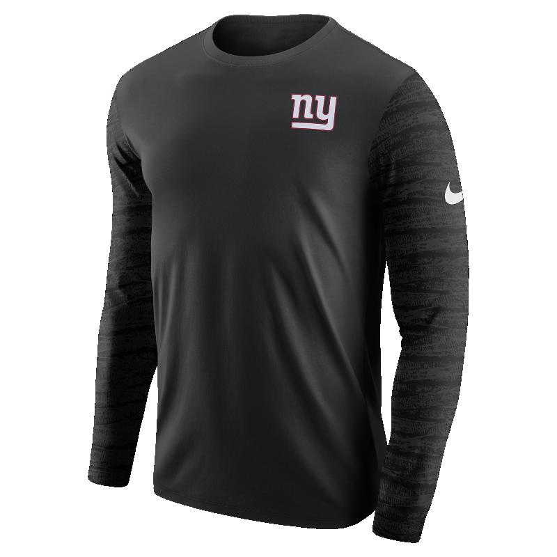 Nike Enzyme Pattern (NFL Giants) Men's Long-Sleeve T-Shirt