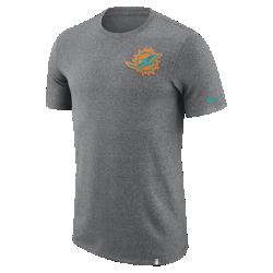Мужская футболка Nike Dry Marled Patch (NFL Dolphins)Мужская футболка Nike Dry Marled Patch (NFL Dolphins) из влагоотводящей ткани дополнена клубной символикой.<br>
