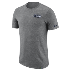 Мужская футболка Nike Dry Marled Patch (NFL Seahawks)Мужская футболка Nike Dry Marled Patch (NFL Seahawks) из влагоотводящей ткани дополнена клубной символикой.<br>