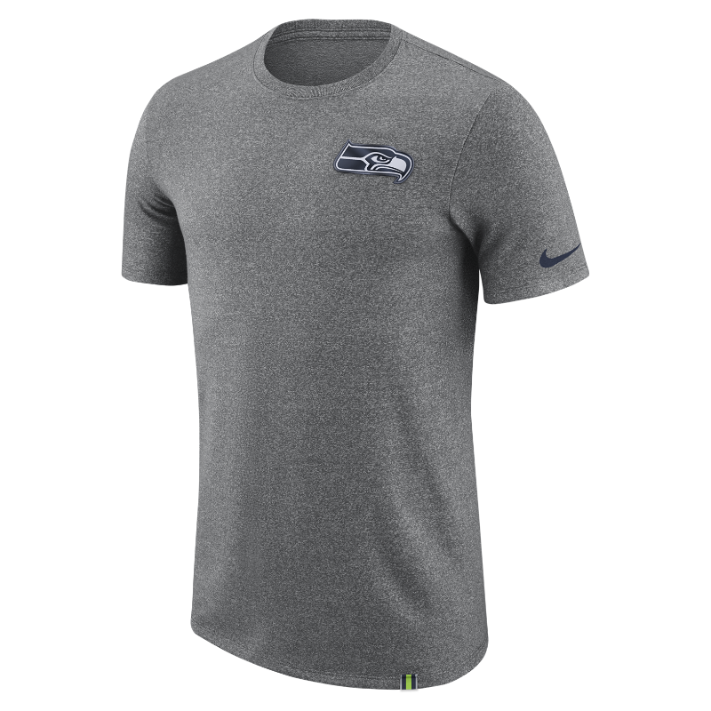 Nike Dry Marled Patch (NFL Seahawks) Men's T-Shirt