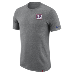 Мужская футболка Nike Dry Marled Patch (NFL Giants)Мужская футболка Nike Dry Marled Patch (NFL Giants) из влагоотводящей ткани дополнена клубной символикой.<br>