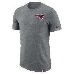 Мужская футболка Nike Dry Marled Patch (NFL Patriots)Мужская футболка Nike Dry Marled Patch (NFL Patriots) из влагоотводящей ткани дополнена клубной символикой.<br>
