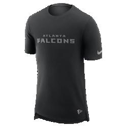 Мужская футболка Nike Enzyme Droptail (NFL Falcons)Мужская футболка Nike Enzyme Droptail (NFL Falcons) из ультрамягкого хлопка украшена клубными деталями.<br>