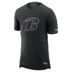 Мужская футболка Nike Enzyme Droptail (NFL Ravens)Мужская футболка Nike Enzyme Droptail (NFL Ravens) из ультрамягкого хлопка украшена клубными деталями.<br>