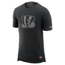 Мужская футболка Nike Enzyme Droptail (NFL Bengals)Мужская футболка Nike Enzyme Droptail (NFL Bengals) из ультрамягкого хлопка украшена клубными деталями.<br>