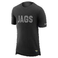 Мужская футболка Nike Enzyme Droptail (NFL Jaguars)Мужская футболка Nike Enzyme Droptail (NFL Jaguars) из ультрамягкого хлопка украшена клубными деталями.<br>