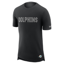 Мужская футболка Nike Enzyme Droptail (NFL Dolphins)Мужская футболка Nike Enzyme Droptail (NFL Dolphins) из ультрамягкого хлопка украшена клубными деталями.<br>