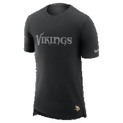 Мужская футболка Nike Enzyme Droptail (NFL Vikings)Мужская футболка Nike Enzyme Droptail (NFL Vikings) из ультрамягкого хлопка украшена клубными деталями.<br>