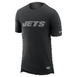 Мужская футболка Nike Enzyme Droptail (NFL Jets)Мужская футболка Nike Enzyme Droptail (NFL Jets) из ультрамягкого хлопка украшена клубными деталями.<br>