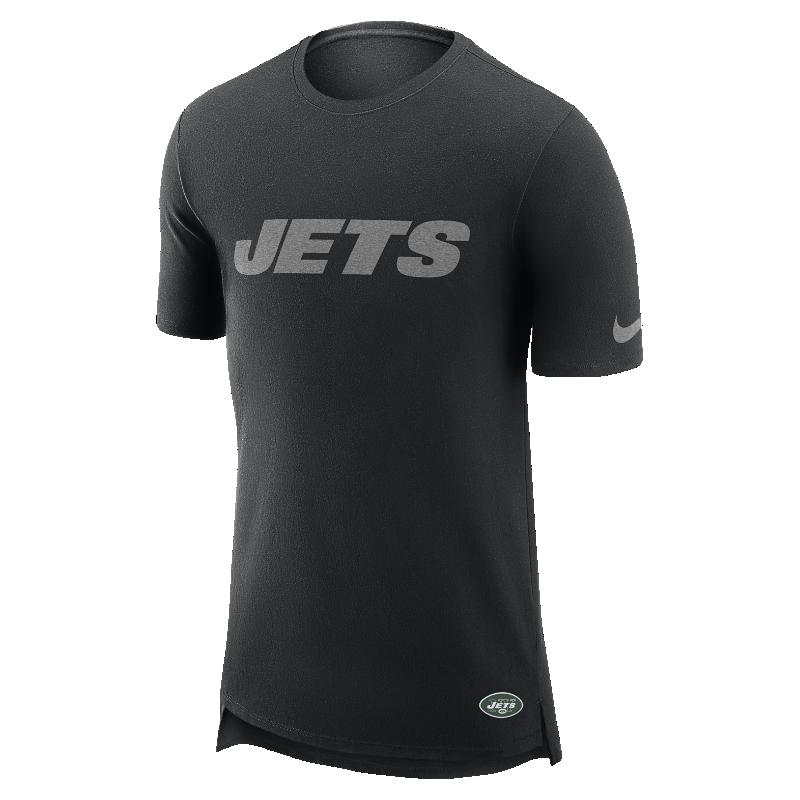 Nike Enzyme Droptail (NFL Jets) Men's T-Shirt