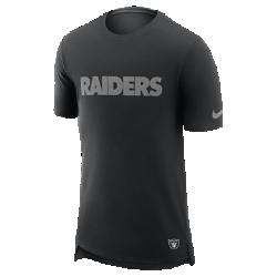 Мужская футболка Nike Enzyme Droptail (NFL Raiders)Мужская футболка Nike Enzyme Droptail (NFL Raiders) из ультрамягкого хлопка украшена клубными деталями.<br>