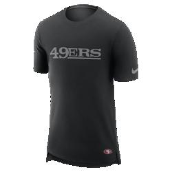 Мужская футболка Nike Enzyme Droptail (NFL 49ers)Мужская футболка Nike Enzyme Droptail (NFL 49ers) из ультрамягкого хлопка украшена клубными деталями.<br>