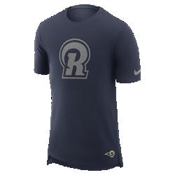 Мужская футболка Nike Enzyme Droptail (NFL Rams)Мужская футболка Nike Enzyme Droptail (NFL Rams) из ультрамягкого хлопка украшена клубными деталями.<br>