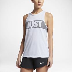 Женская майка для тренинга Nike DryЖенская майка для тренинга Nike Dry из влагоотводящей ткани обеспечивает вентиляцию и комфорт во время тренировок.<br>