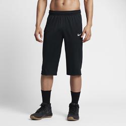 Мужские баскетбольные шорты Nike Dry 43 смМужские баскетбольные шорты Nike Dry 43 см из легкой влагоотводящей ткани с длиной чуть ниже колена обеспечивают защиту и комфорт на площадке и за ее пределами.  Комфорт  Ткань Nike Dry с технологией Dri-FIT обеспечивает абсолютный комфорт, отводя влагу на поверхность ткани, где она быстро испаряется.  Оптимальный комфорт  Длина шагового шва 43 см закрывает колени, а зауженный крой создает стильный образ. Эластичный пояс с внутренним шнурком обеспечивает плотную адаптивную посадку.<br>