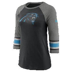 Женская футболка с рукавом 3/4 Nike Tri-Blend Raglan (NFL Panthers)Женская футболка с рукавом 3/4 Nike Tri-Blend Raglan (NFL Panthers) из ультрамягкой ткани украшена яркими клубными деталями.<br>
