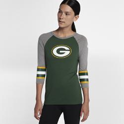 Женская футболка с рукавом 3/4 Nike Tri-Blend Raglan (NFL Packers)Женская футболка с рукавом 3/4 Nike Tri-Blend Raglan (NFL Packers) из ультрамягкой ткани украшена яркими клубными деталями.<br>
