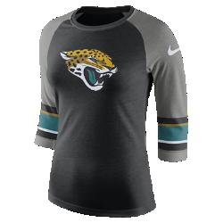 Женская футболка с рукавом 3/4 Nike Tri-Blend Raglan (NFL Jaguars)Женская футболка с рукавом 3/4 Nike Tri-Blend Raglan (NFL Jaguars) из ультрамягкой ткани украшена яркими клубными деталями.<br>