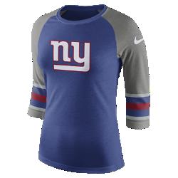 Женская футболка с рукавом 3/4 Nike Tri-Blend Raglan (NFL Giants)Женская футболка с рукавом 3/4 Nike Tri-Blend Raglan (NFL Giants) из ультрамягкой ткани украшена яркими клубными деталями.<br>
