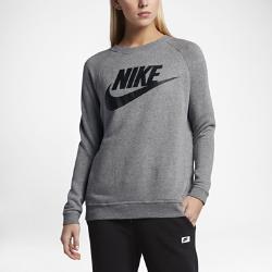Женский свитшот с логотипом Nike Sportswear ModernЖенский свитшот с логотипом Nike Sportswear Modern с эргономичной конструкцией обеспечивает естественную свободу движений.<br>