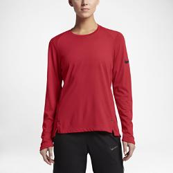 Женская баскетбольная футболка с длинным рукавом Nike Breathe EliteЖенская баскетбольная футболка с длинным рукавом Nike Breathe Elite из легкой дышащей ткани создает ощущение прохлады и обеспечивает комфорт во время разминки и тренировки.<br>