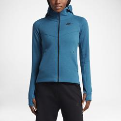 Женская худи Nike Sportswear Tech FleeceЖенская худи Nike Sportswear Tech Fleece из мягкого флиса с функциональным дизайном для города, эргономичным кроем и несколькими карманами обеспечивает тепло и свободу движений.<br>
