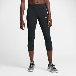 Женские беговые капри Nike Epic LuxЖенские беговые капри Nike Epic Lux из плотной мягкой ткани и дышащей сетки обеспечивают поддержку и вентиляцию там, где это необходимо.  Эластичность и поддержка  Невероятно мягкая, эластичная и очень плотная ткань Nike Power для идеального сочетания комфорта и компрессионной поддержки.  Воздухопроницаемость  Вставки из сетки в области коленей сзади обеспечивают вентиляцию.  Оптимальная защита  Широкий пояс с посадкой выше бедер для дополнительной защиты и полного комфорта.<br>