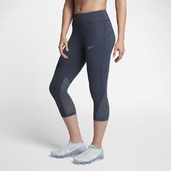 Женские беговые капри Nike Epic LuxЖенские беговые капри Nike Epic Lux из плотной мягкой ткани и дышащей сетки обеспечивают поддержку и вентиляцию там, где это необходимо.<br>