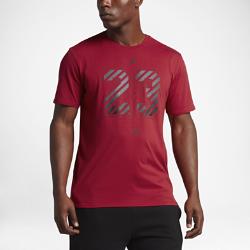 Мужская футболка Jordan Dry 23 AirМужская футболка Jordan Dry 23 Air из влагоотводящей ткани обеспечивает комфорт.<br>