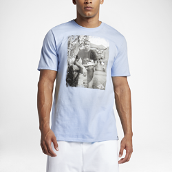 Мужская футболка Air Jordan PhotoМужская футболка Air Jordan Photo из чистого хлопка обеспечивает длительный комфорт.<br>