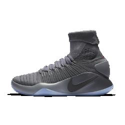 Мужские баскетбольные кроссовки Nike Hyperdunk 2016 FlyknitМужские баскетбольные кроссовки Nike Hyperdunk 2016 Flyknit с низкопрофильным дизайном обеспечивают высокий уровень поддержки, не стесняя естественных движений стопы.<br>