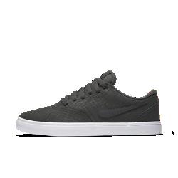 Мужская обувь для скейтбординга Nike SB Check Solarsoft PremiumМужская обувь для скейтбординга Nike SB Check Solarsoft Premium с верхом из прочной кожи и ультрамягкой амортизацией, поглощающей ударные нагрузки при приземлении, создана для естественного комфорта при катании и на каждый день.<br>