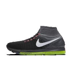 Мужские беговые кроссовки Nike Air Zoom All Out FlyknitМужские беговые кроссовки Nike Air Zoom All Out Flyknit обеспечивают естественный комфорт и гибкость благодаря низкопрофильной амортизации и дышащему трикотажному верху. Нити Flywire интегрированы со шнурками для фиксации стопы без утяжеления.<br>