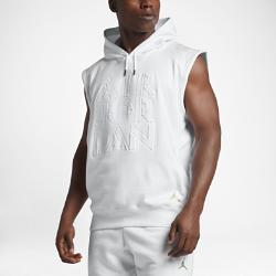 Мужская худи без рукавов Jordan PinnacleМужская худи без рукавов Jordan Pinnacle из мягкой ткани френч терри с регулируемым капюшоном обеспечивает длительный комфорт и легко сочетается с другими моделями.<br>