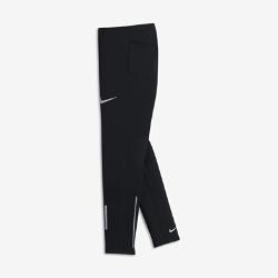 Беговые тайтсы для мальчиков школьного возраста Nike PowerБеговые тайтсы для мальчиков школьного возраста Nike Power с компрессионной посадкой и дышащей конструкцией обеспечивают поддержку и комфорт во время любой пробежки.  Компрессионная посадка  Компрессионная ткань Nike Power обеспечивает поддержку мышц для естественной свободы движений во время бега.  Воздухопроницаемая конструкция  Технология Dri-FIT обеспечивает комфорт, а вставки из сетки создают ощущение прохлады от старта до финиша.  Удобно снимать и надевать  Молнии на отворотах позволяют легко и быстро снимать и надевать тайтсы.<br>