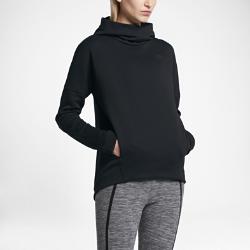 Женская худи Nike Sportswear Tech Fleece PulloverЖенская худи Nike Sportswear Tech Fleece Pullover с водоотталкивающим покрытием удерживает тепло тела, обеспечивая комфорт без дополнительных предметов одежды.<br>