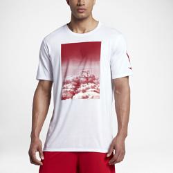 Мужская футболка Nike Dry Hoop HeavenМужская футболка Nike Dry Hoop Heaven из мягкой влагоотводящей ткани обеспечивает вентиляцию и комфорт на весь день.<br>