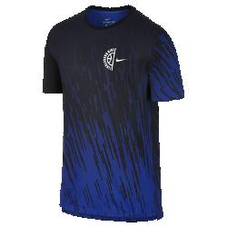Мужская баскетбольная футболка Nike Dry PrintedМужская баскетбольная футболка Nike Dry Printed из мягкой влагоотводящей ткани обеспечивает комфорт на площадке и на улицах города.<br>