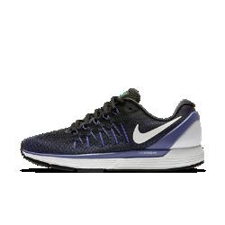 Женские беговые кроссовки Nike Air Zoom Odyssey 2Женские беговые кроссовки Nike Air Zoom Odyssey 2 обеспечивают мягкую адаптивную амортизацию и дополнительную стабилизацию для надежной поддержки от старта до финиша.  Оптимальная амортизация  Вставки Nike Zoom Air в области пятки и передней части стопы обеспечивают упругую низкопрофильную амортизацию, идеальную для стремительного бега.  Дополнительная стабилизация  Подошва из пеноматериала тройной плотности с платформой Dynamic Support компенсируют пронацию, обеспечивая стабилизацию и поддержку стопы при переходе с пятки на носок.  Комфорт и поддержка  Воздухопроницаемый верх из материала Flymesh с нитями Flywire для комфортной поддержки. Благодаря улучшенной технологии плоские и широкие нити плотно облегают стопу и обеспечивают более плотную посадку.<br>