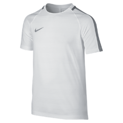 Игровая футболка для мальчиков школьного возраста Nike Dry SquadИгровая футболка для мальчиков школьного возраста Nike Dry Squad из влагоотводящей ткани с рукавами покроя реглан обеспечивает комфорт и свободу движений на поле.<br>