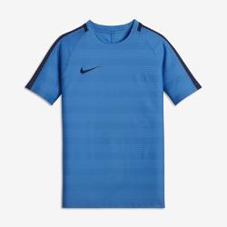 Игровая футболка унисекс для школьников Nike Dry SquadИгровая футболка унисекс для школьников Nike Dry Squad из влагоотводящей ткани с рукавами покроя реглан обеспечивает комфорт и свободу движений на поле.<br>